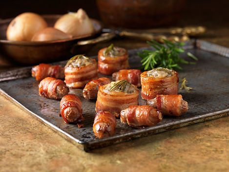Roulés Farcis Au Bacon