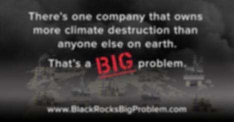 BLK Biggest owner climate destruction .p
