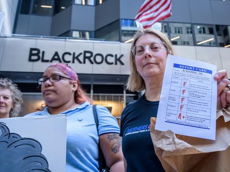 Mothers letter to BlackRock