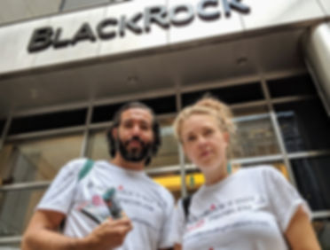 BLK Launch 2 activists in tshirts_edited