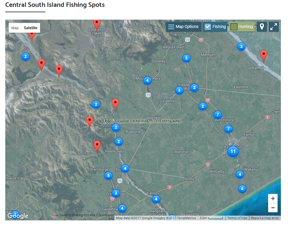 local fishing locations