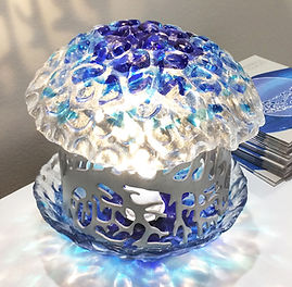 OCEANO lamp in glass