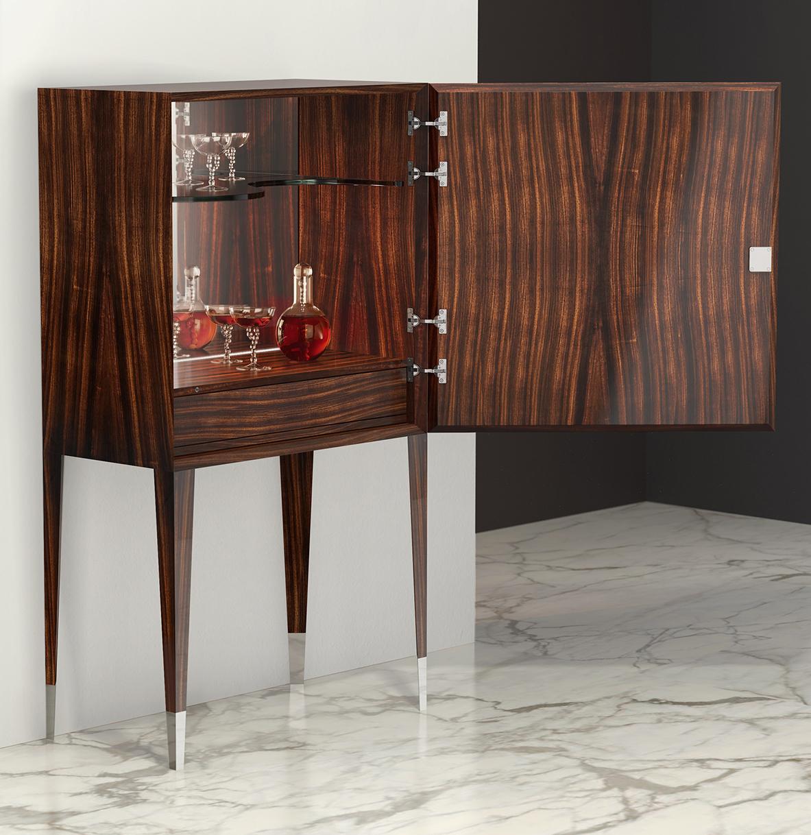 Cabinet Bar SPECCHIO interno