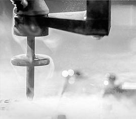 Waterjet cut