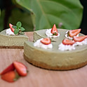 Japanese Matcha Cheese Cake