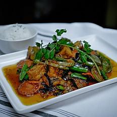 Eggplant Prik Pao