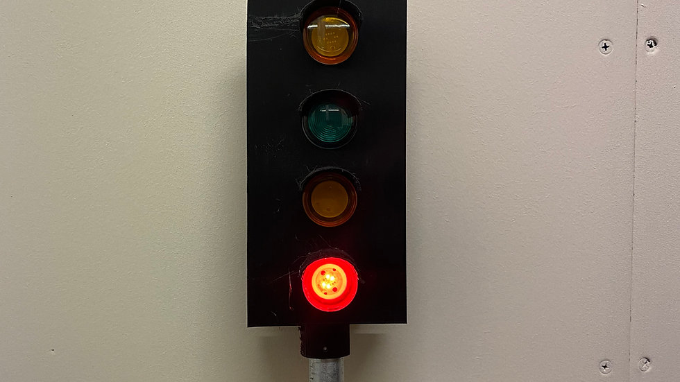 4 Aspect colour light signal