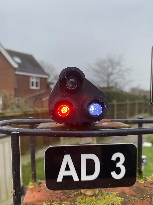 Ground position light signal (ground mounted)