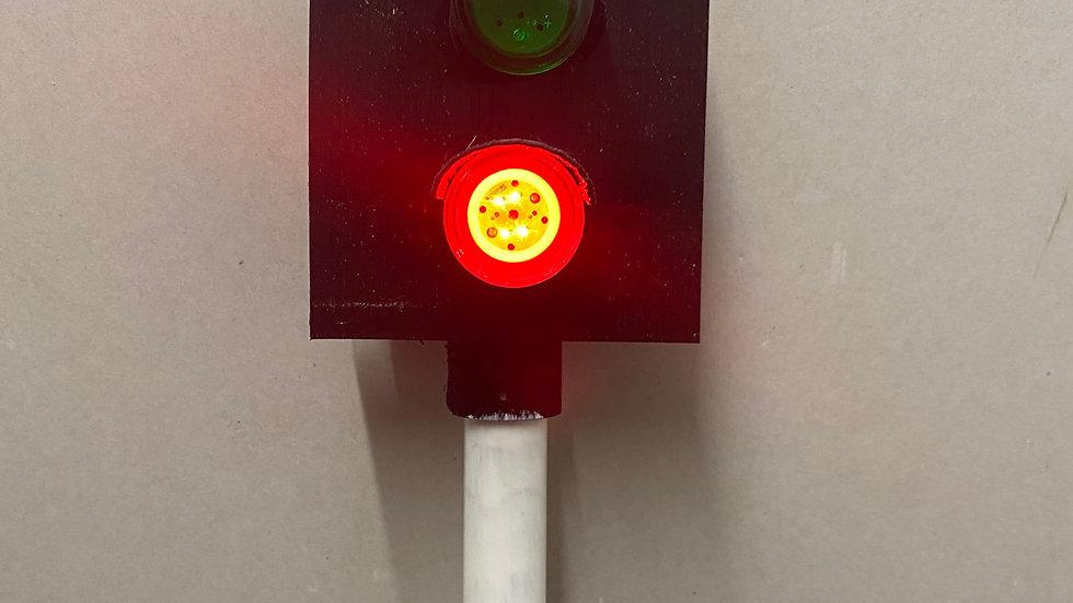 2 aspect colour light stop signal