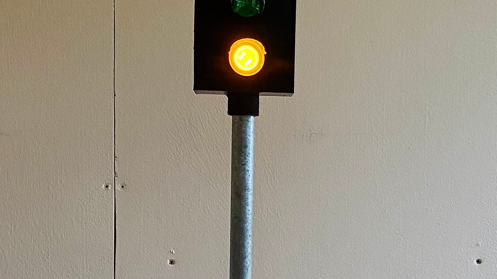 2 aspect colour light distant signal