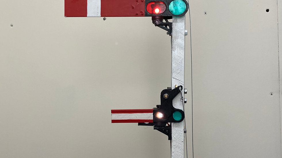 Upper quadrant main arm including shunt arm or calling on