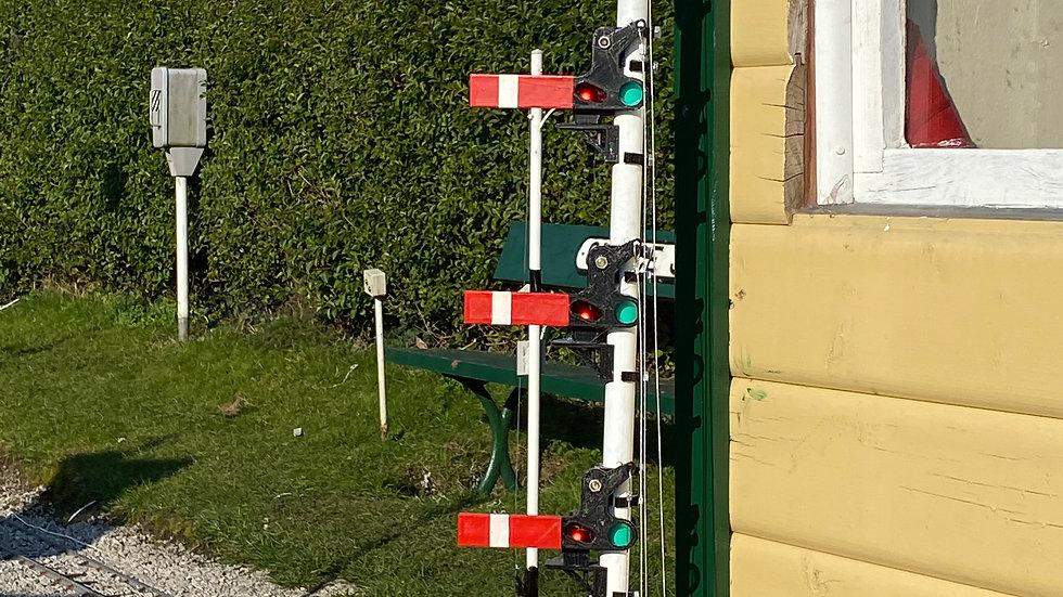 Upper quadrant shunt signal