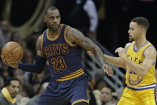 Stephen Curry, LeBron James 2016 NBA Finals