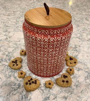 Honey & Chocolate Gluten-Free Cookies