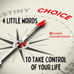 4 Little Words to Take Control of Your Life