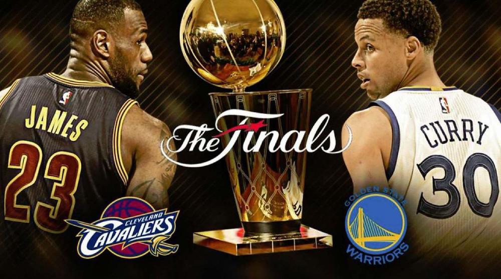 Stephen Curry, LeBron James, 2016 NBA Finals