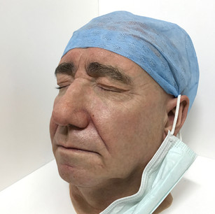 Silicone head for 'Holby City'
