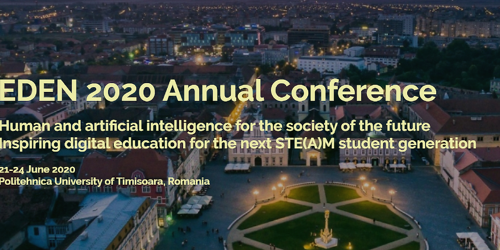 THE 29TH EDEN ANNUAL CONFERENCE IN JUNE GOES ONLINE!