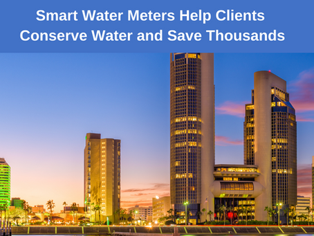 Smart Water Meters Help Clients Conserve Water and Save Thousands
