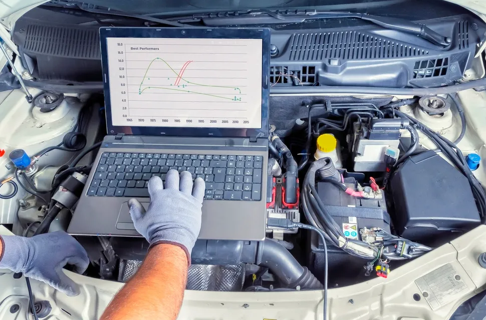 Diagnostic Scan for gas vehicles