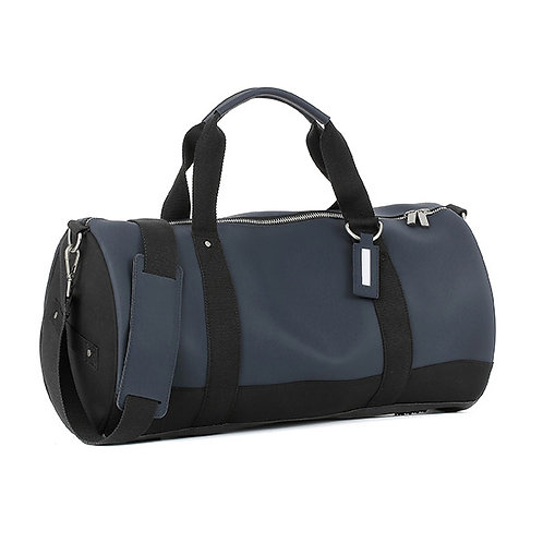E1MDUFSILAD-Navy Duffel Bags (Medium)