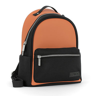 E1MSDSILAD-Orange Backpacks (Medium)
