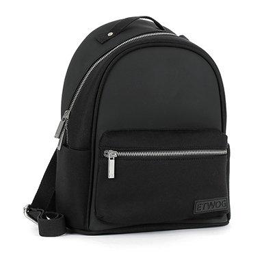 E1MSDSILAD-Black Backpacks (Medium)