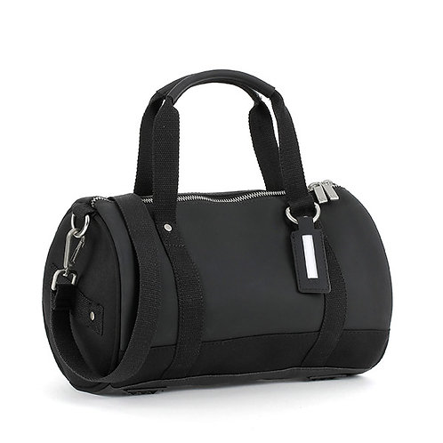 E1SDUFSILAD-Black Duffel Bags (Small)