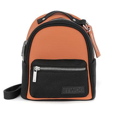 E1SSDSILAD-Orange Backpacks (Small)