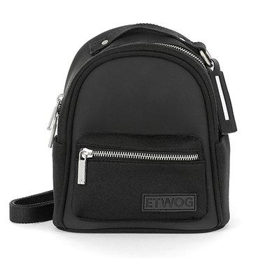E1SSDSILAD-Black Backpacks (Small)