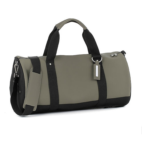 E1MDUFSILAD-Kaki Duffel Bags (Medium)