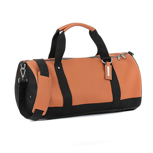 E1MDUFSILAD-Orange Duffel Bags (Medium)