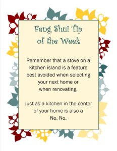 Feng Shui Tip of the Week