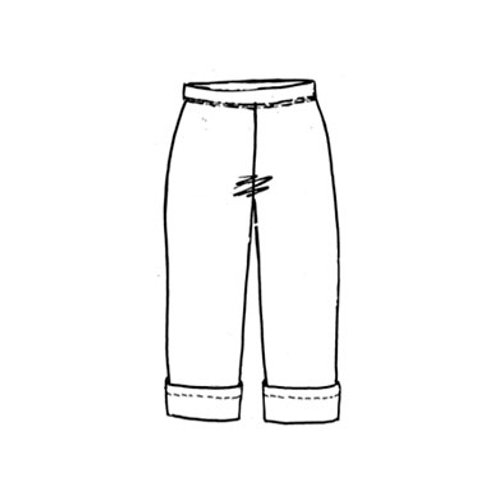 Basic-Hose kurz