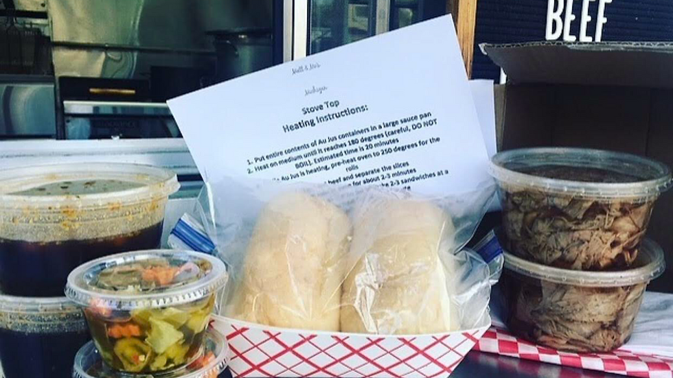 Beef Kit for 4 sandwiches