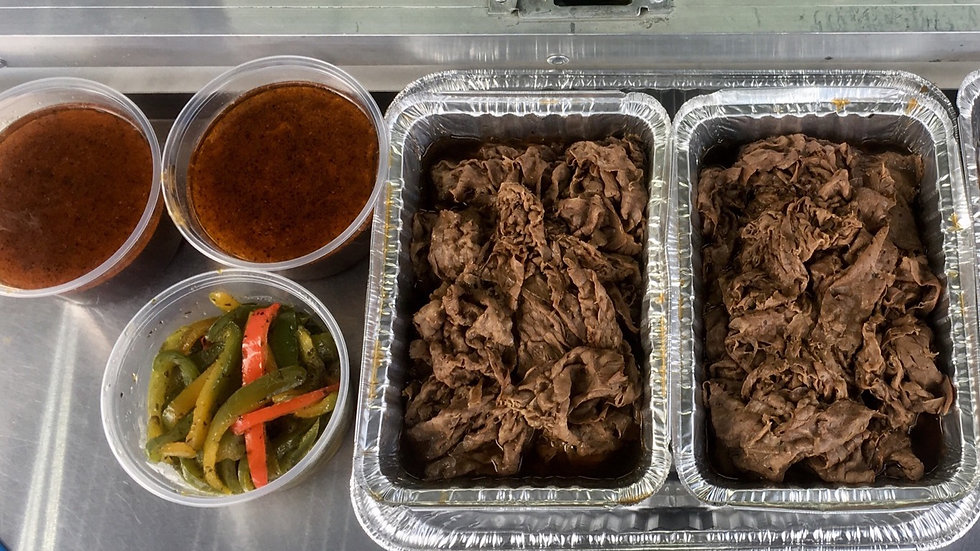 Matt & Mo's Italian beef Party Tray