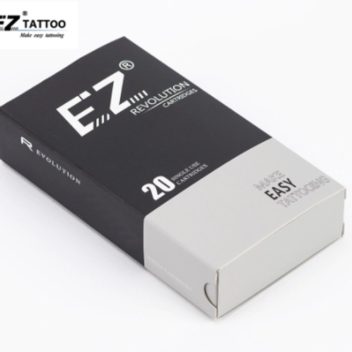 EZ Revolution Cartridge Tattoo Needles #12 0.35mm Round Liner RC1201RL