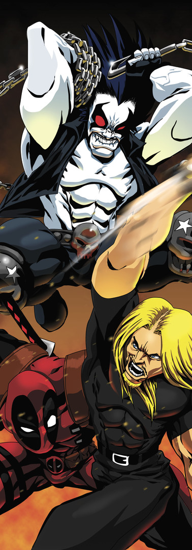 Brismtone vs Lobo vs Deadpool