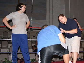 Brimstone | Training Students at PWR Wrestling