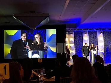 Brimstone | Brimstone & Kim Adragna accept 2018 SCORE Small Business Award
