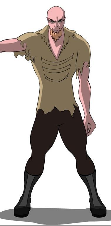 Mr. Hostile Animated Character