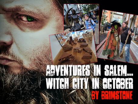 Adventures in Salem... Witch City in October!