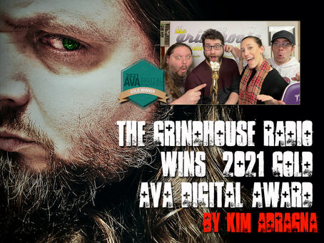 The Grindhouse Radio Wins 2021 Gold AVA Digital Award
