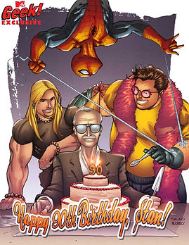 Brimstone   Mtv Geek Exclusive for Stan Lee's 90th Birthday
