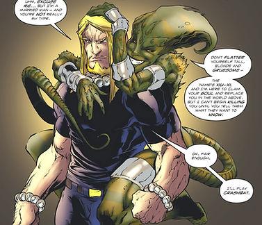 Brimstone | Comic Panel