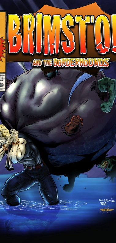 Mock Brimstone and The Borderhounds Issue 1