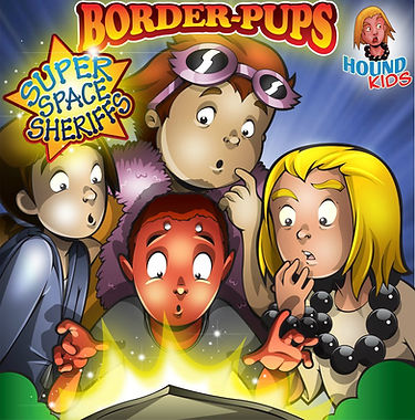 Border-Pups Super Space Sheriffs Cover