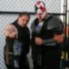 Brimstone   Carnival of Destruction PWR Tag Team Champions with Demolition Blast