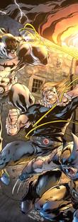 Brimstone vs Batman vs Wolverine