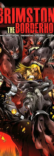 Brimstone and The Borderhounds Issue 9 Cover from Hound Comics